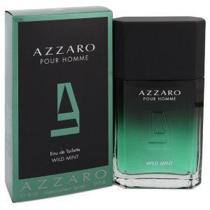 Azzaro Wild Mint by Azzaro Eau De Toilette Spray 3.4 oz Men