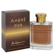 Baldessarini Ambre Oud by Hugo Boss Eau De Parfum Spray 3 oz Men