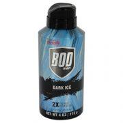 Bod Man Dark Ice by Parfums De Coeur Body Spray 4 oz Men