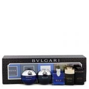 Bvlgari Man In Black by Bvlgari Gift Set -- Travel Size Gift Set Includes Bvlgari Aqua Atlantique