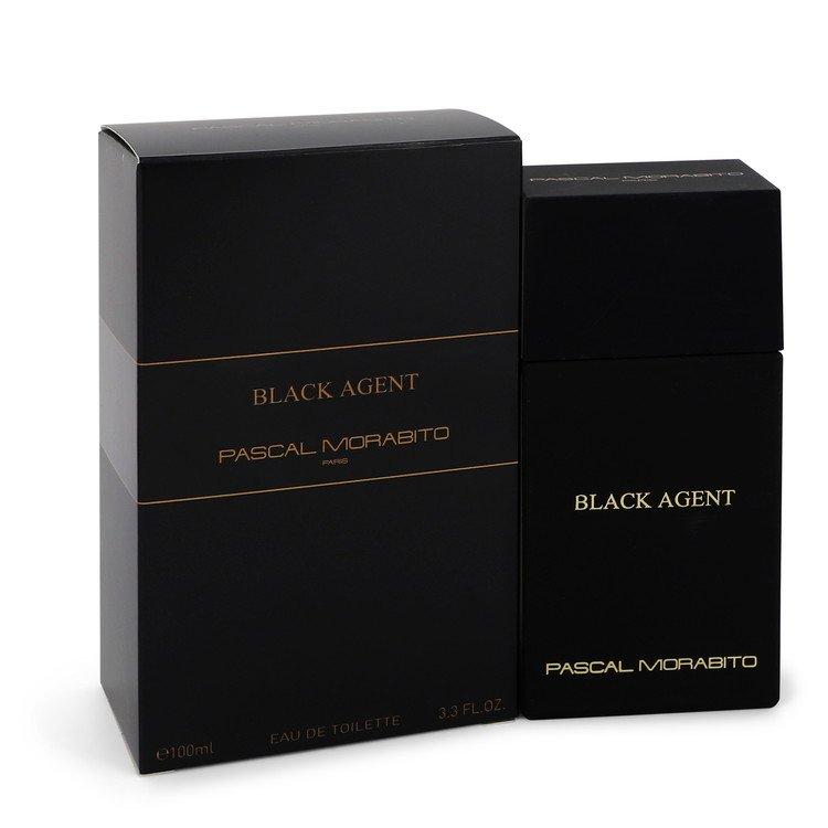 Black Agent by Pascal Morabito Eau De Toilette Spray 3.3 oz Men