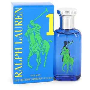 Big Pony Blue by Ralph Lauren Eau De Toilette Spray 1.7 oz Men