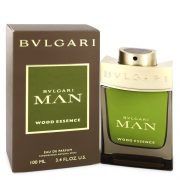 Bvlgari Man Wood Essence by Bvlgari Eau De Parfum Spray 3.4 oz Men