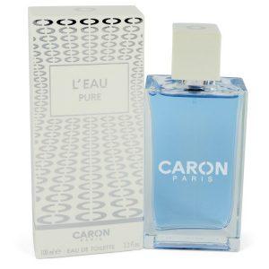 Caron L'eau Pure by Caron Eau De Toilette Spray (Unisex) 3.3 oz Women