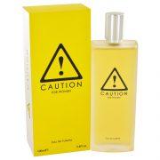 Caution by Kraft Eau De Toilette Spray 3.4 oz Women
