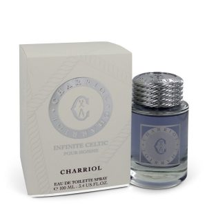 Charriol Infinite Celtic by Charriol Eau De Toilette Spray 3.4 oz Men