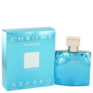 Chrome Summer by Azzaro Eau De Toilette Spray 1.7 oz Men
