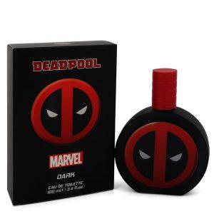 Deadpool Dark by Marvel Eau De Toilette Spray 3.4 oz Men