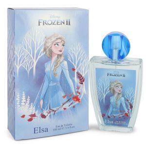 Disney Frozen II Elsa by Disney Eau De Toilette Spray 3.4 oz Women