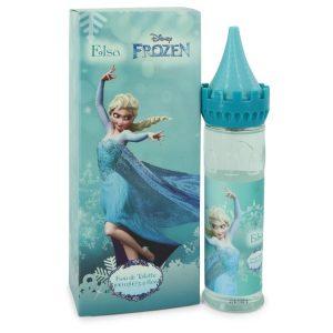 Disney Frozen Elsa by Disney Eau De Toilette Spray (Castle Packaging) 3.4 oz Women