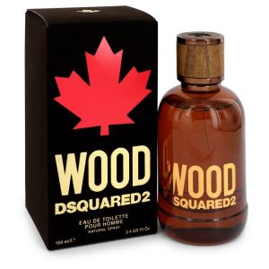 Dsquared2 Wood by Dsquared2 Eau De Toilette Spray 3.4 oz Men