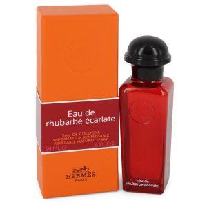 Eau De Rhubarbe Ecarlate by Hermes Eau De Cologne Spray 1.6 oz Men