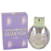 Emporio Armani Diamonds Violet by Giorgio Armani Eau De Parfum Spray 1.7 oz Women