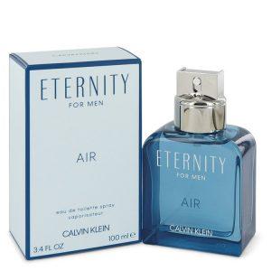 Eternity Air by Calvin Klein Eau De Toilette Spray 3.4 oz Men
