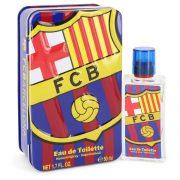 FC Barcelona by Air Val International Eau De Toilette Spray 1.7 oz Men