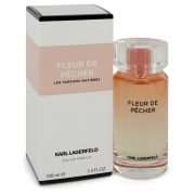 Fleur De Pecher by Karl Lagerfeld Eau De Parfum Spray 3.3 oz Women