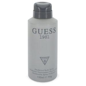 Guess 1981 by Guess Body Spray 5 oz Men