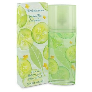 Green Tea Cucumber by Elizabeth Arden Eau De Toilette Spray 3.3 oz Women