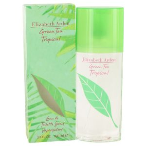 Green Tea Tropical by Elizabeth Arden Eau De Toilette Spray 3.3 oz Women