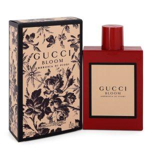 Gucci Bloom Ambrosia Di Fiori by Gucci Eau De Parfum  Intense Spray 3.3 oz Women