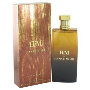 Hanae Mori Him by Hanae Mori Eau De Parfum Spray 3.4 oz Men
