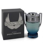 Invictus Aqua by Paco Rabanne Eau De Toilette Spray 1.7 oz Men