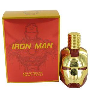 Iron Man by Marvel Eau De Toilette Spray 3.4 oz Men