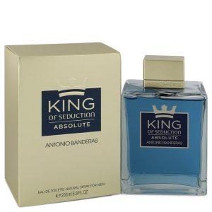 King of Seduction Absolute by Antonio Banderas Eau De Toilette Spray 6.7 oz Men