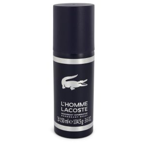 Lacoste L'homme by Lacoste Deodorant Spray 3.6 oz Men