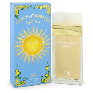 Light Blue Sun by Dolce & Gabbana Eau De Toilette Spray 3.4 oz Women