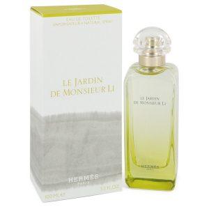 Le Jardin De Monsieur Li by Hermes Eau De Toilette Spray (Unisex) 3.3 oz Men
