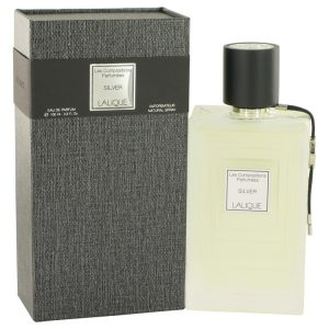 Les Compositions Parfumees Silver by Lalique Eau De Parfum Spray 3.3 oz Women
