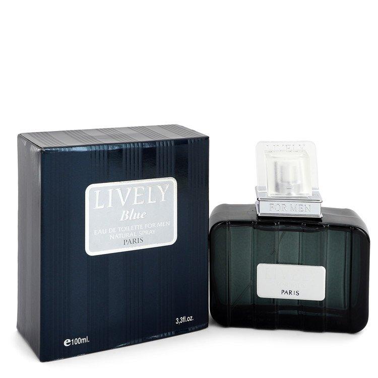 Lively Blue by Parfums Lively Eau De Toilette Spray 3.3 oz Men