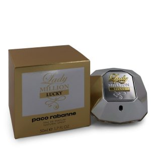 Lady Million Lucky by Paco Rabanne Eau De Parfum Spray 1.7 oz Women