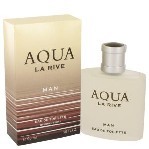 La Rive Aqua by La Rive Eau De Toilette Spray 3 oz Men