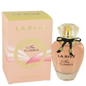 La Rive In Flames by La Rive Eau De Parfum Spray 3 oz Women