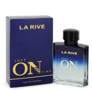 La Rive Just On Time by La Rive Eau De Toilette Spray 3.3 oz Men