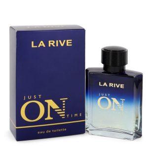 La Rive Just On Time by La Rive Eau De Toilette Spray 3.3 oz Men