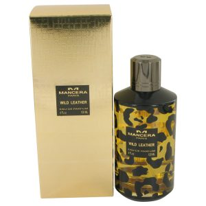 Mancera Wild Leather by Mancera Eau De Parfum Spray (Unisex) 4 oz Women