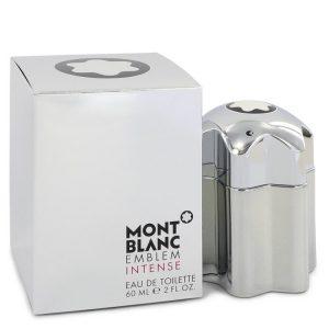Montblanc Emblem Intense by Mont Blanc Eau De Toilette Spray 2 oz Men