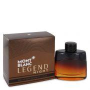 Montblanc Legend Night by Mont Blanc Eau De Parfum Spray 1.7 oz Men
