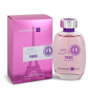 Mandarina Duck Let's Travel to Paris by Mandarina Duck Eau De Toilette Spray 3.4 oz Women