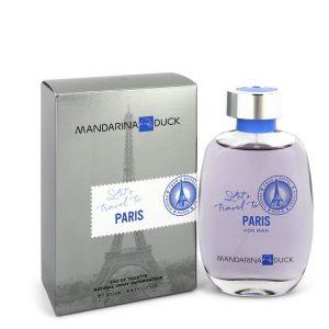 Mandarina Duck Let's Travel to Paris by Mandarina Duck Eau De Toilette Spray 3.4 oz Men