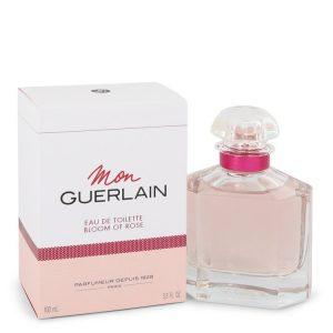 Mon Guerlain Bloom of Rose by Guerlain Eau De Toilette Spray 3.3 oz Women