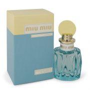 Miu Miu L'eau Bleue by Miu Miu Eau De Parfum Spray 1.7 oz Women