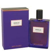 Molinard Vanille by Molinard Eau De Pafum Spray (Unisex) 2.5 oz Women