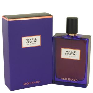 Molinard Vanille Fruitee by Molinard Eau De Parfum Spray (Unisex) 2.5 oz Women
