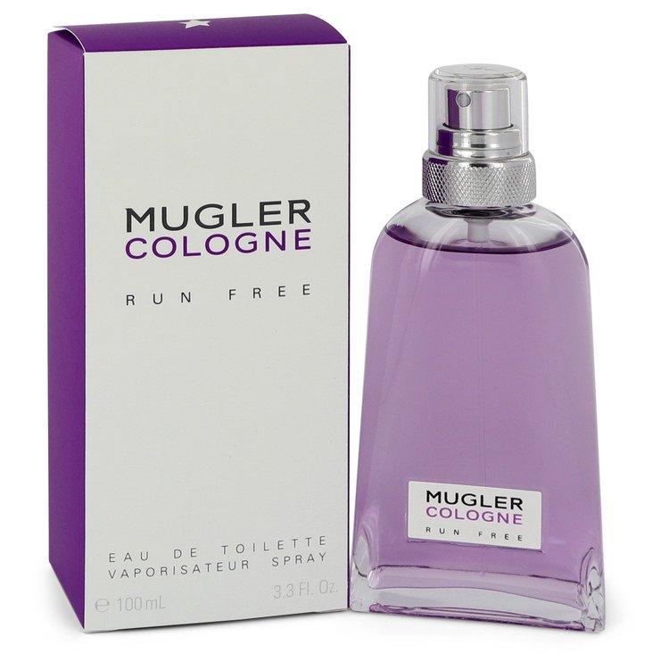 Mugler Run Free by Thierry Mugler Eau De Toilette Spray (Unisex) 3.3 oz Women