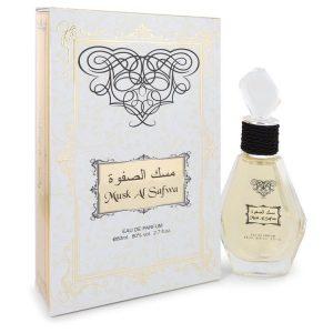 Musk Al Safwa by Rihanah Eau De Parfum Spray (Unisex) 2.7 oz Men