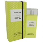 Notebook Citrus & Green Tea by Selectiva SPA Eau De Toilette Spray (Unisex) 3.4 oz Women